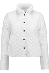 Duvetica Anfinolea Quilted Shell Down Coat White