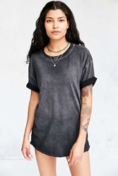Pins And Needles Freedom Washed Tunic Tee Black