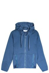 Stella Mccartney For Adidas Essentials Hoodie Blue