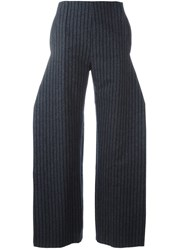 Jacquemus Flared Trousers Grey
