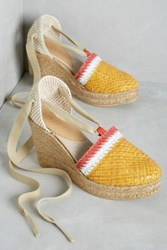 Anthropologie Penelope Chilvers Valenciana Wedges Saffron 36 Euro Wedges