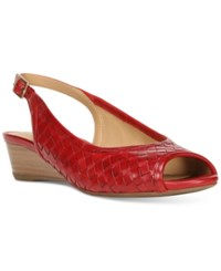 Naturalizer Canera Sandals Women's Shoes Red
