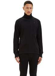 Y 3 Ribbed Roll Neck Sweater Black