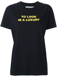 Off White 'To Look' T Shirt Black