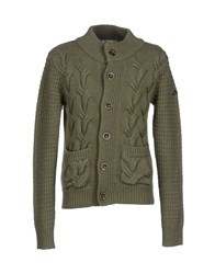 Roy Rogers Roy Roger's Knitwear Cardigans Men Military Green