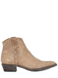 Mexicana 20Mm Star Studded Leather Boots