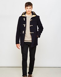 Gloverall Mid Monty Coat Navy