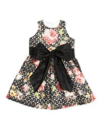 Helena Floral Crochet Princess Dress Sizes 7