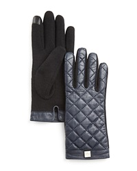 Lauren Ralph Lauren Quilted Tech Gloves Navy