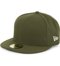 New Era 59Fifty Plain Fitted Cap Rifle Green