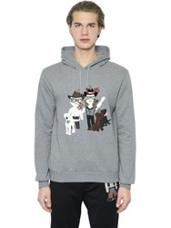 Dolce And Gabbana Designers Hooded Cotton Sweatshirt