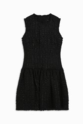 Simone Rocha Women S Fine Tweed Mini Dress Boutique1 Black