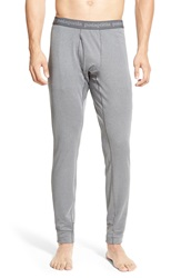 Patagonia 'Capilene 3' Midweight Base Layer Pants Forge Grey Feather Grey