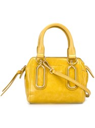 See By Chloe Mini 'Paige' Crossbody Bag Yellow And Orange