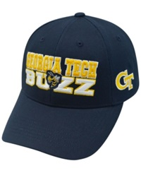 Top Of The World Georgia Tech Yellow Jackets Teamwork Cap Navy