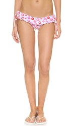 Lolli Flirt Ruffle Side Tie Bikini Bottoms Smooch