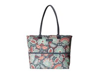 Vera Bradley Lighten Up Expandable Travel Tote Nomadic Floral Tote Handbags Multi