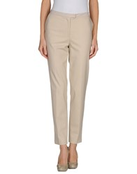 Fabiana Filippi Trousers Casual Trousers Women Beige