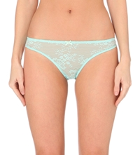 Stella Mccartney Gwyneth Gazing Briefs Turquoise