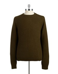 Michael Kors Crewneck Knit Sweater Army Green