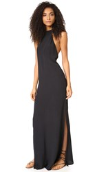 Flynn Skye Tyra Maxi Dress Black