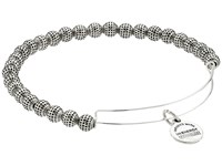 Alex And Ani Euphrates Beaded Expandable Bangle Russian Silver Bracelet