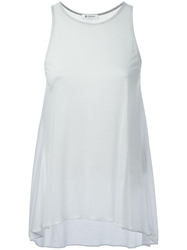 Dondup Loose Fit Tank Top White