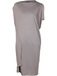 Alexandre Plokhov Trapeze Dress Grey