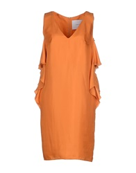 Normaluisa Short Dresses Orange