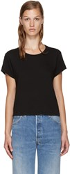 Re Done Black Hanes Edition 1950'S Perfect Boxy T Shirt