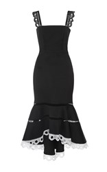 Alexis Marcelina Fit And Flare Dress Black