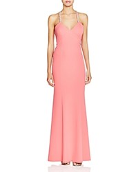 Decode 1.8 Beaded Cross Back Gown Pink