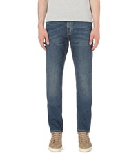Michael Kors Faded Slim Fit Tapered Jeans Sag Harbour