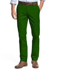 Tommy Hilfiger Men's Custom Fit Chino Pants June Bug