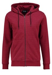 Only And Sons Onsfiske Tracksuit Top Rosewood Bordeaux