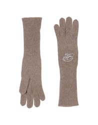 Blumarine Gloves Sand