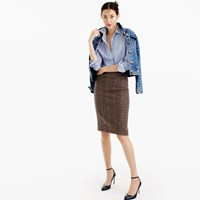 J.Crew Tall No. 2 Pencil Skirt In Houndstooth