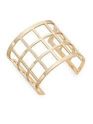 Saks Fifth Avenue Caged Cuff Gold