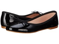 Summit White Mountain Kendall Black Patent Leather Women's Slip On Shoes