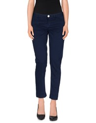 Maggie Trousers Casual Trousers Women Dark Blue