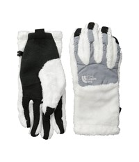 The North Face Women's Denali Thermal Etip Glove Tnf White Mid Grey Extreme Cold Weather Gloves