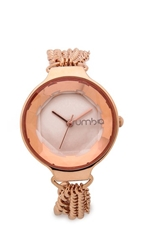 Rumbatime Orchard Chain Watch Rose Smoke
