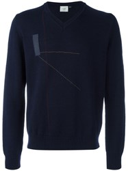 Peuterey 'Tires' Jumper Blue