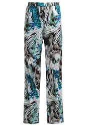Replay Trousers Green White