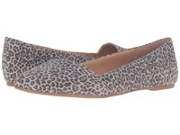 Lucky Brand Archh Brindle Persian Leopard Women's Flat Shoes Gold