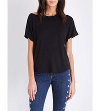 Rag And Bone Batwing Jersey Top Black
