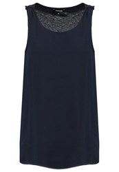 More And More Blouse Marine Dark Blue