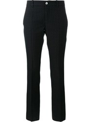 Gucci Polka Dot Trousers Blue