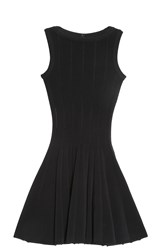 Alaia Flared Dress Black