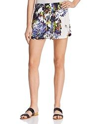 French Connection Kiki Palm Printed Shorts Brule Multi